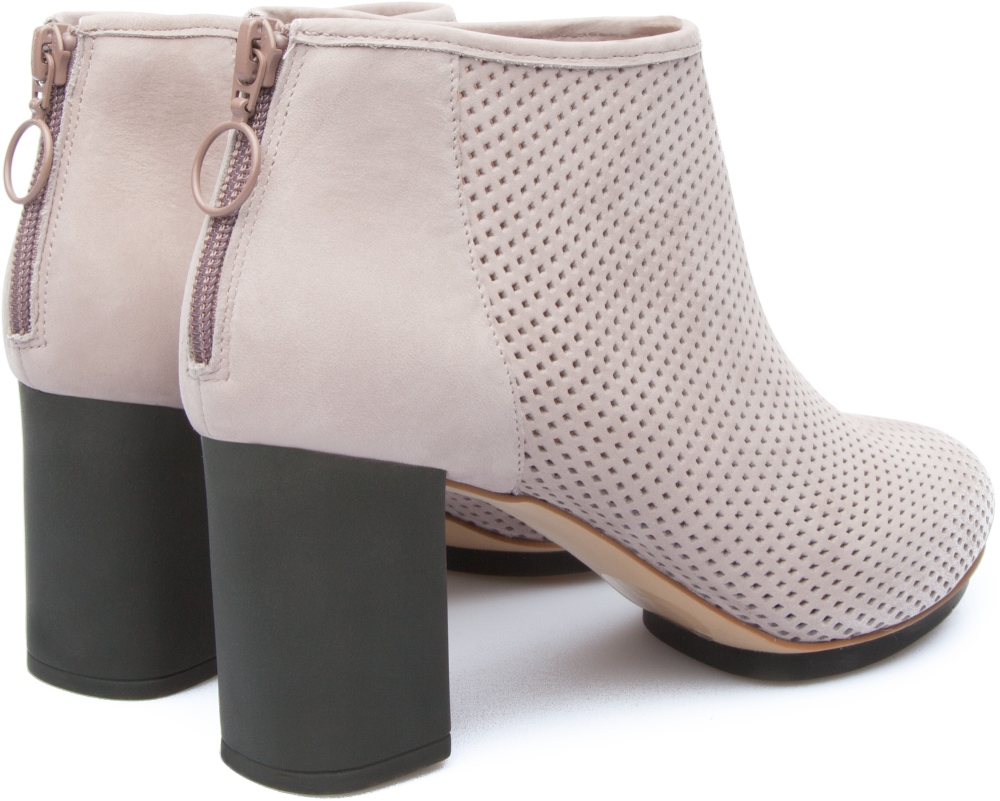 Camper Myriam Beige Ankle boots Women 46796-026