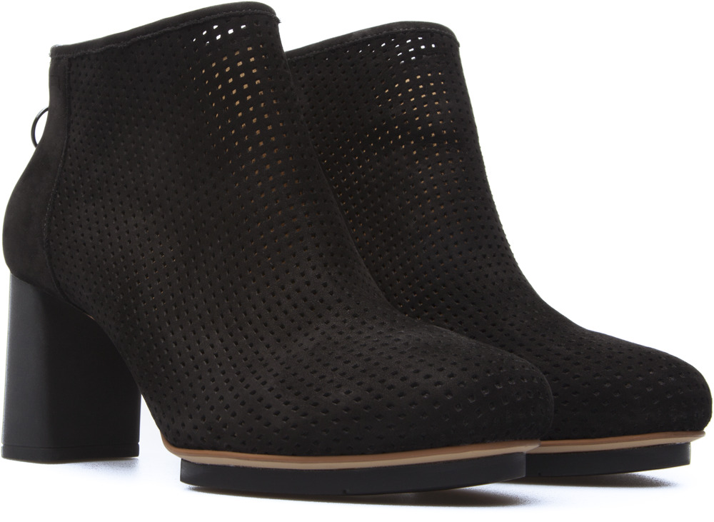 Camper Myriam Black Ankle Boots Women 46796-027
