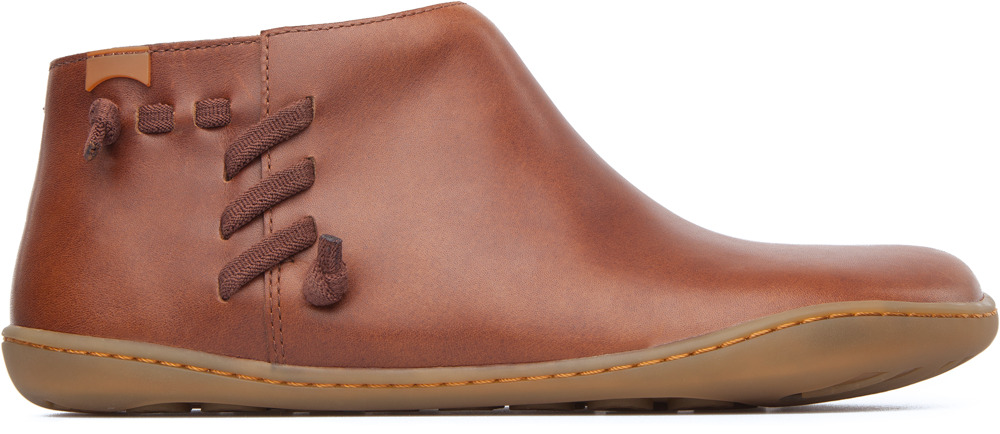 Camper Peu Brown Boots Women 46824-037