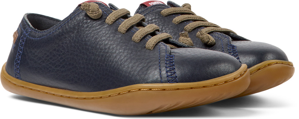 Camper Peu Blue Lace-Up Kids 80003-104