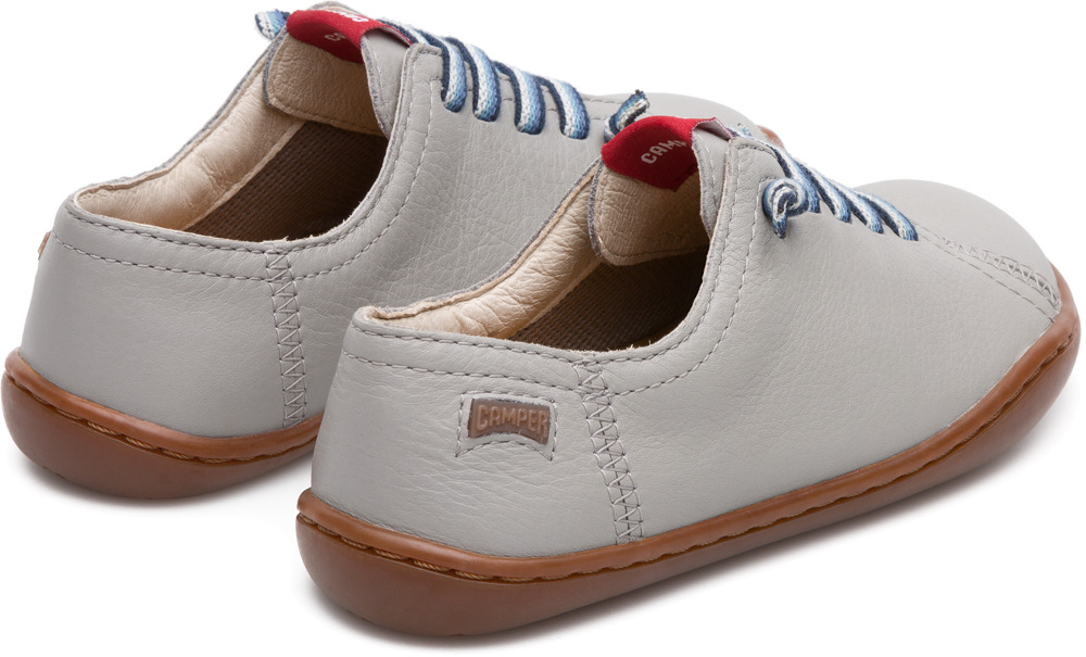 Camper Peu Grey Lace-Up Kids 80003-105