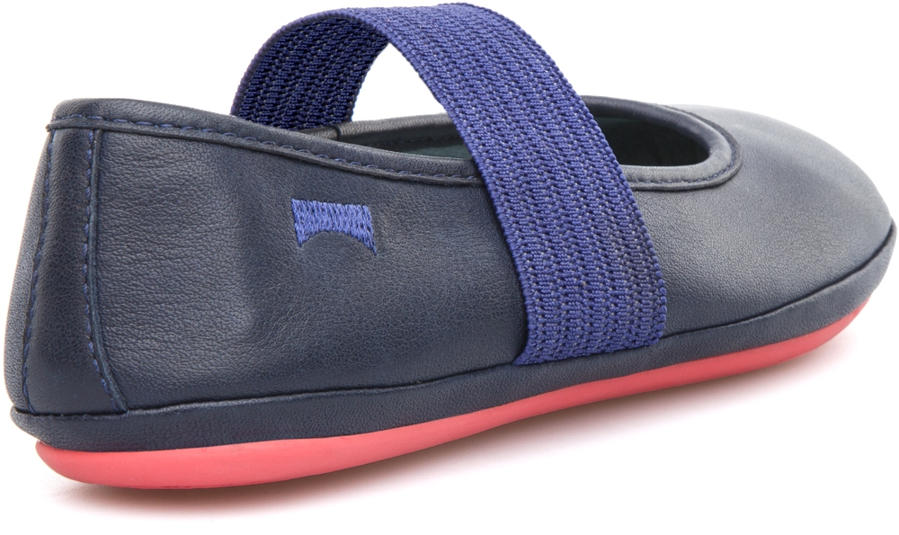 Camper RIGHT Blue Ballerinas Kids 80025-032