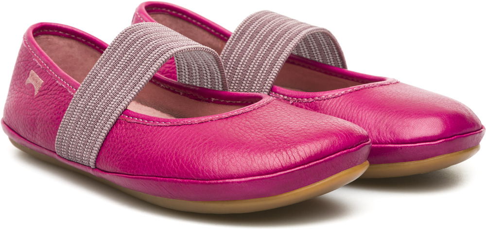 Camper RIGHT Purple Ballerinas Kids 80025-038