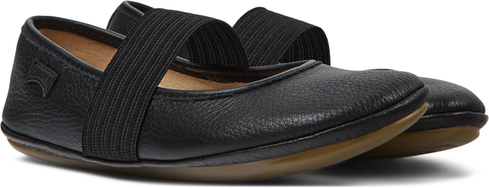 Camper Right Schwarz Ballerinas Kinder 80025-053