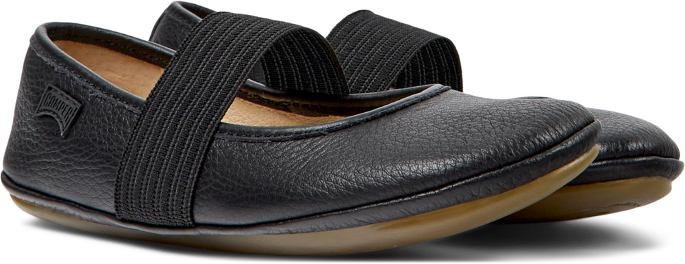 Camper Right Black Ballerinas Kids 80025-053