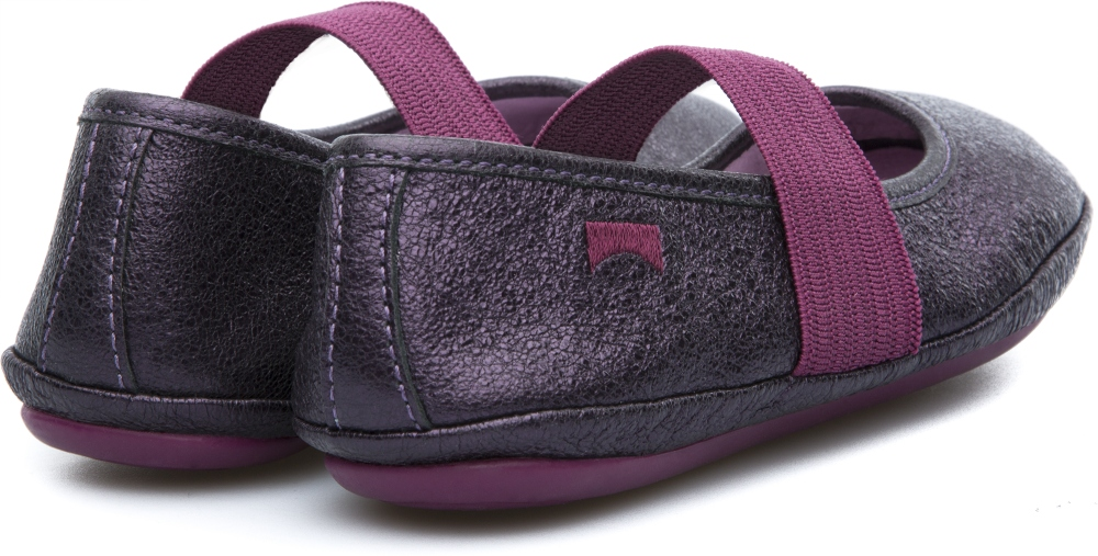 Camper RIGHT Purple Ballerinas Kids 80025-075