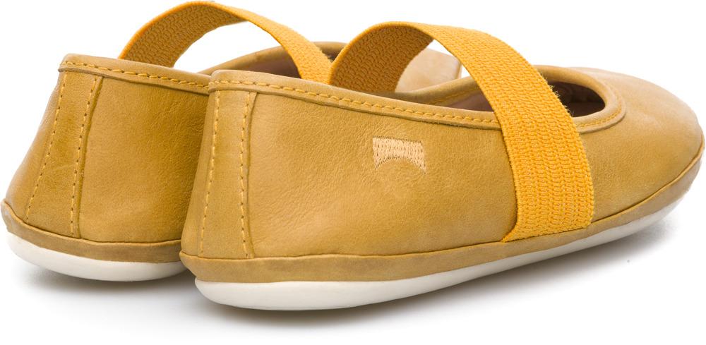 Camper Right Yellow Ballerinas Kids 80025-080