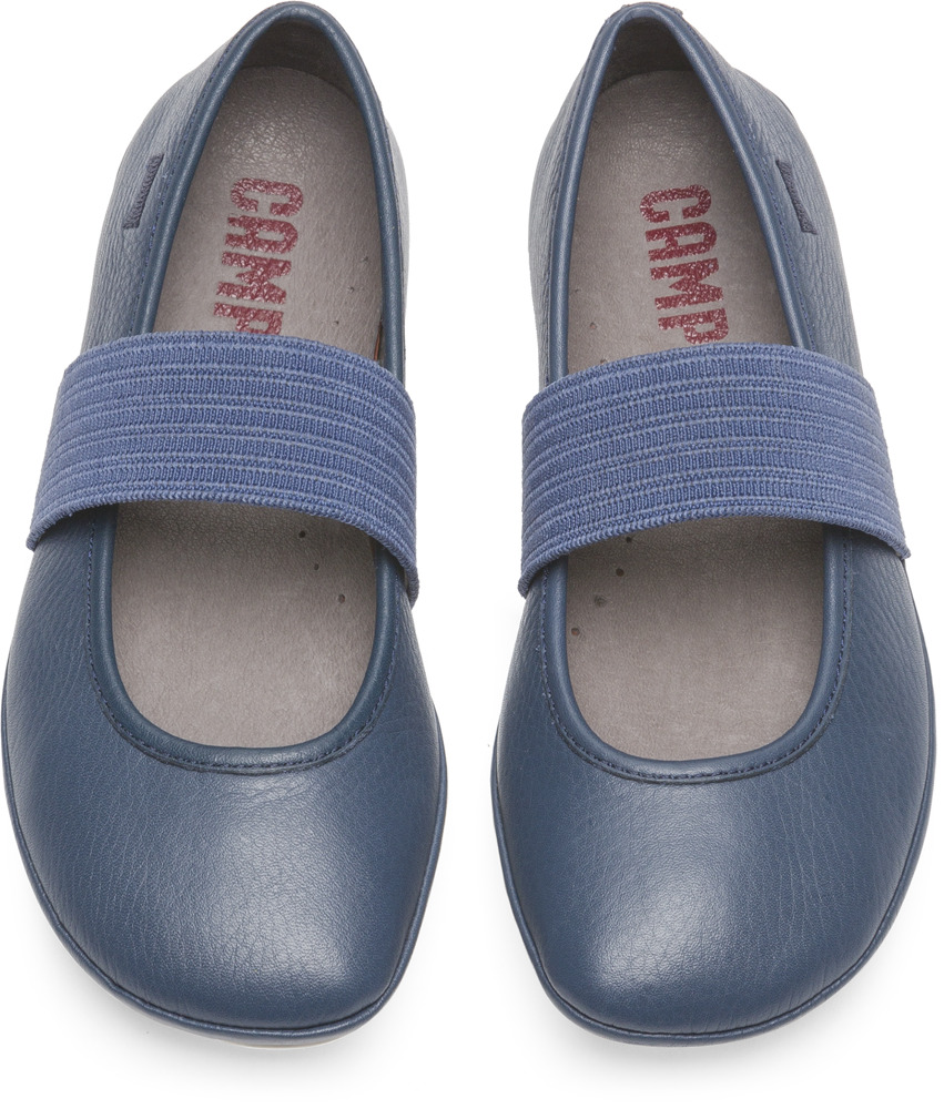 Camper Right Blue Ballerinas Kids 80025-093
