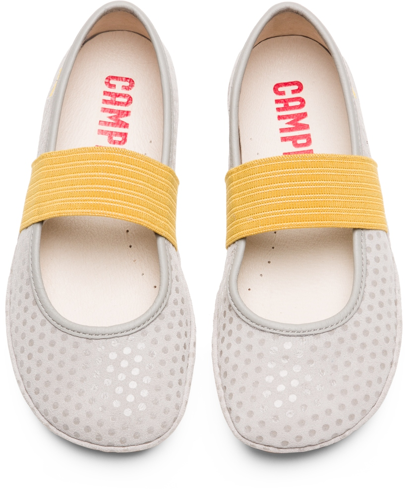 Camper Right Gris Ballerines Enfant 80025-104