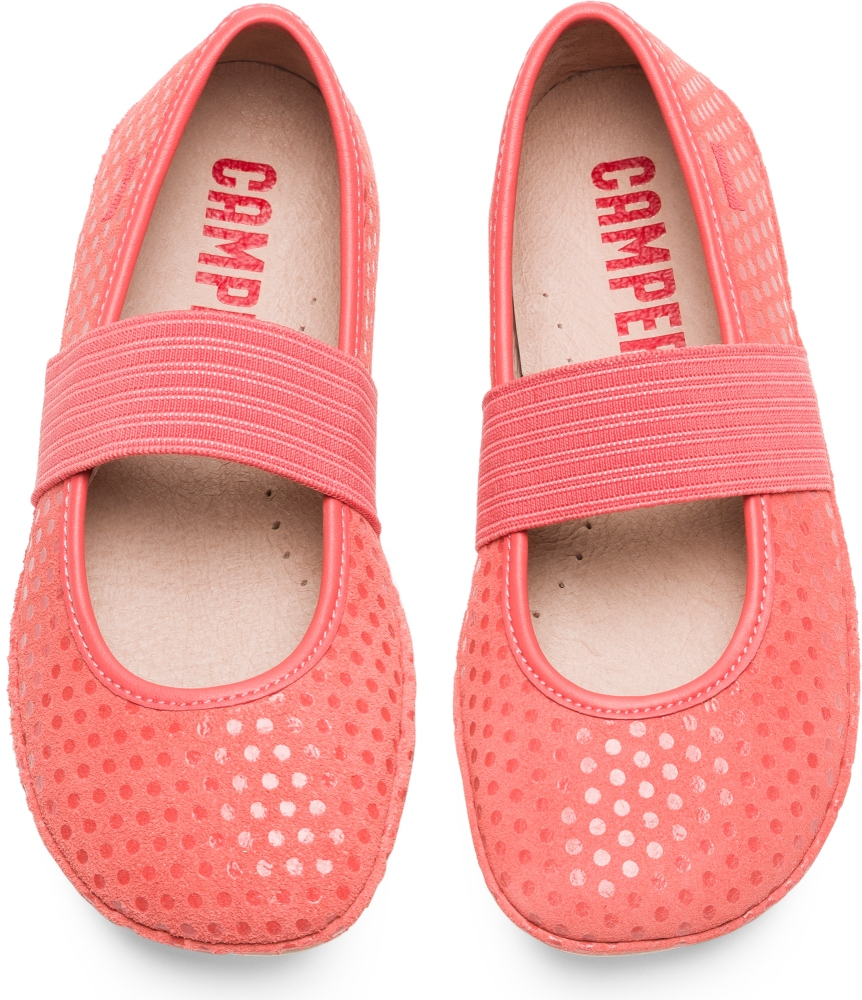 Camper Right Pink Ballerinas Kids 80025-105