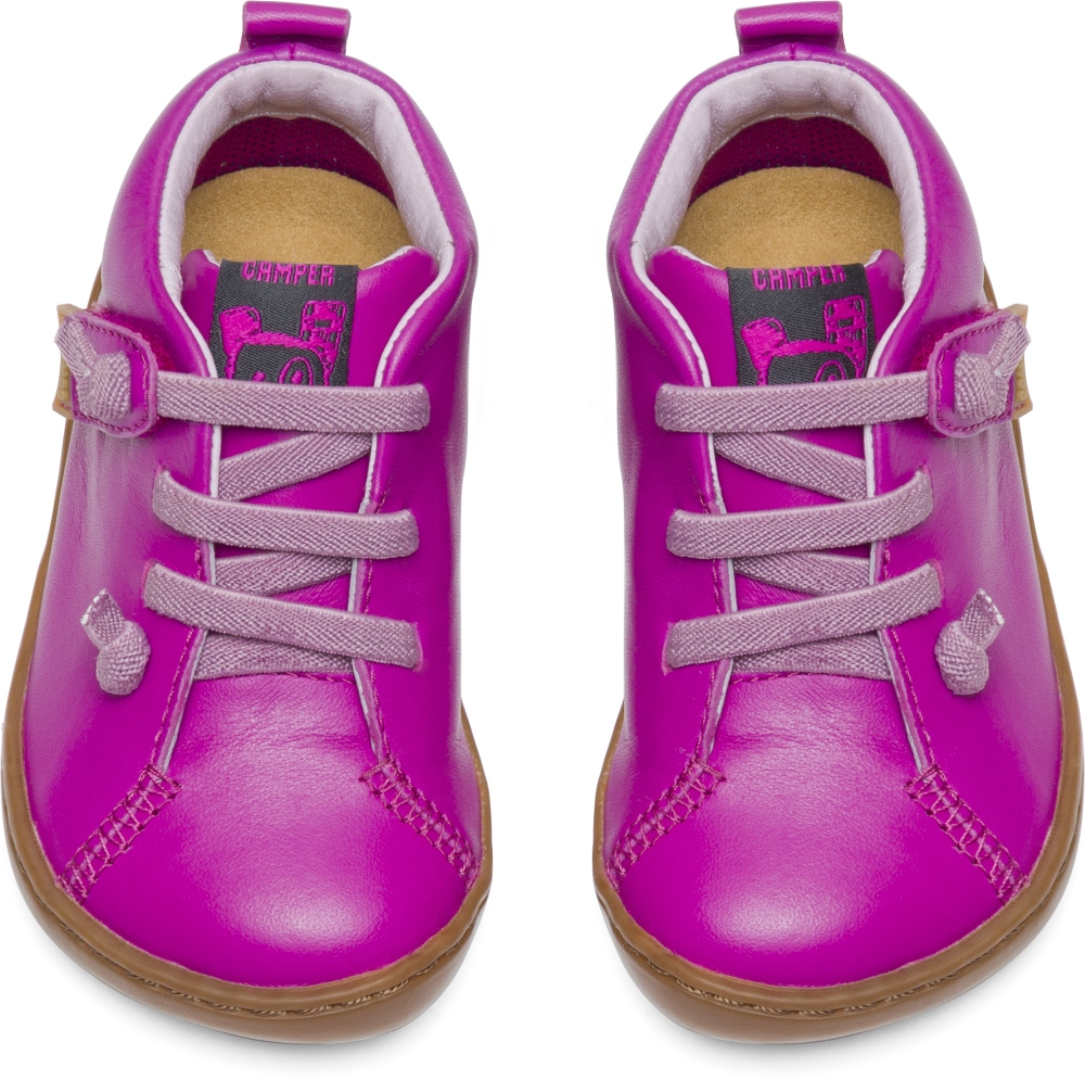 Camper Peu Purple SMART CASUAL SHOES Kids 80153-057