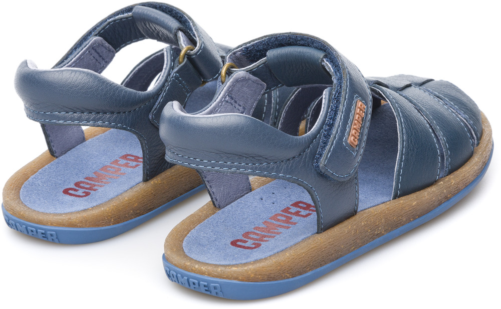 Camper Bicho Blue Sandals Kids 80177-042