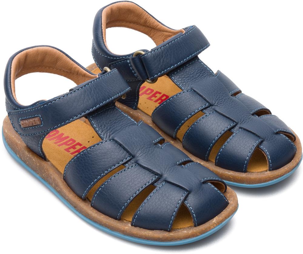 Camper Bicho Azul Velcro Crianças 80177-045
