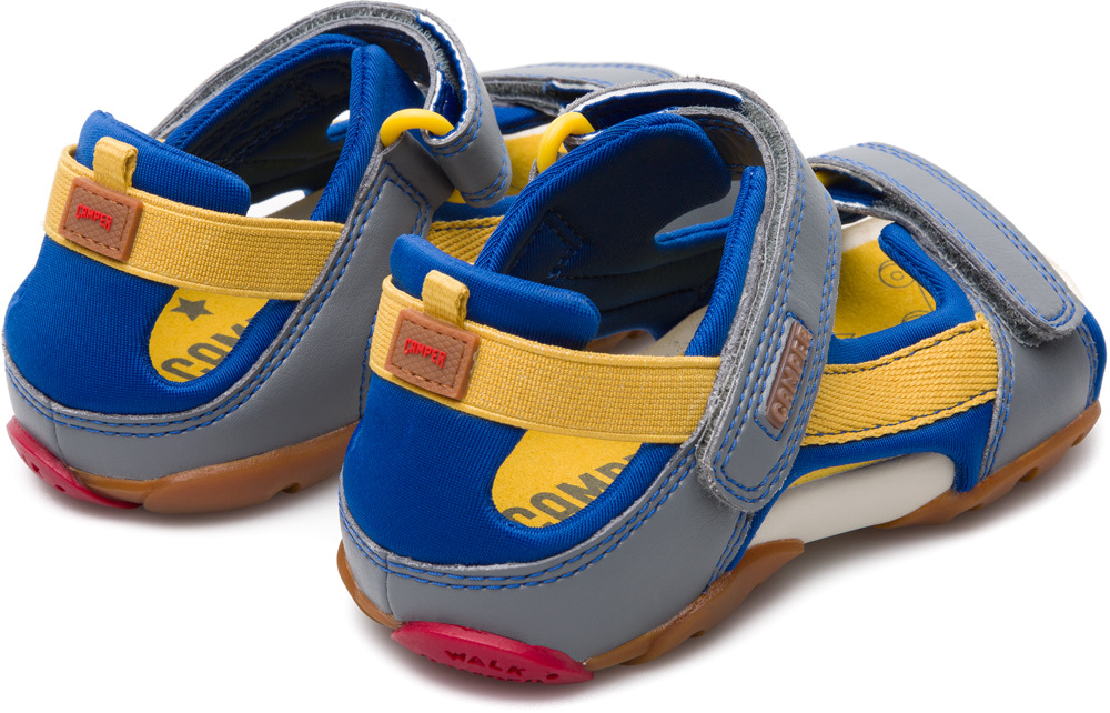 Camper Ous Multicolor Non Leather Shoes Kids 80188-051