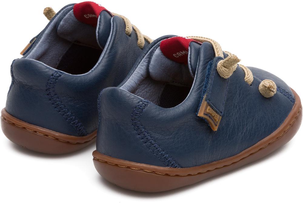 Camper Peu Blue Velcro Kids 80212-017
