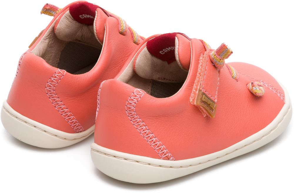 Camper Peu Pink Velcro Kids 80212-065