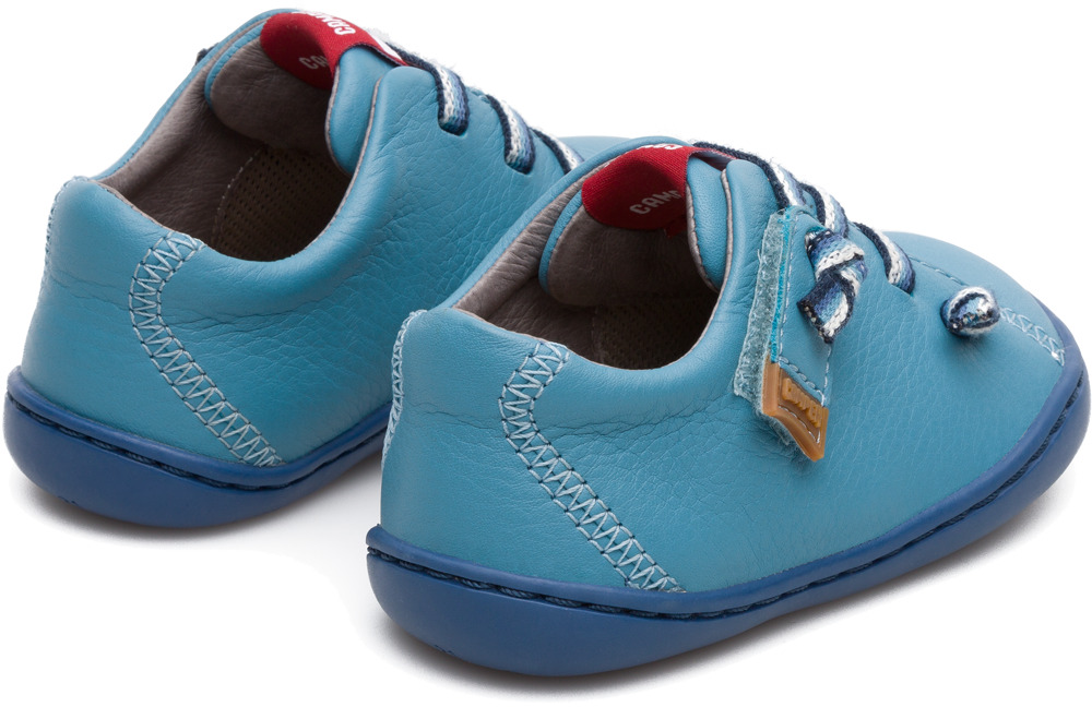 Camper Peu Blue Velcro Kids 80212-066