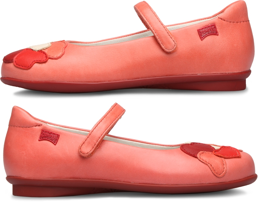 Camper Twins Pink SMART CASUAL SHOES Kids 80333-001