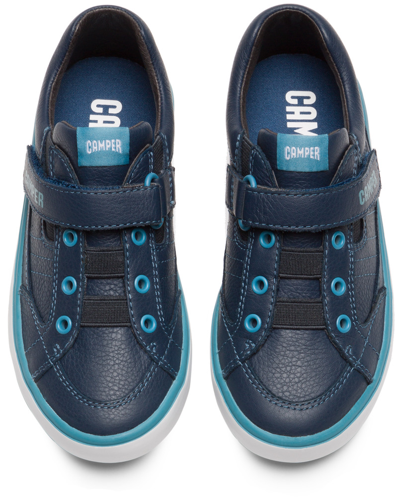 Camper Pursuit Bleu Baskets Enfant 80343-057