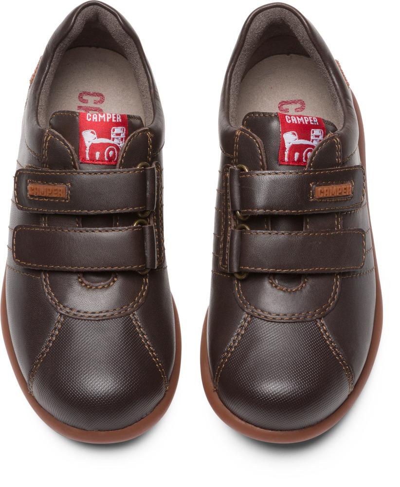 Camper Pelotas Brown Sneakers Kids 80353-037