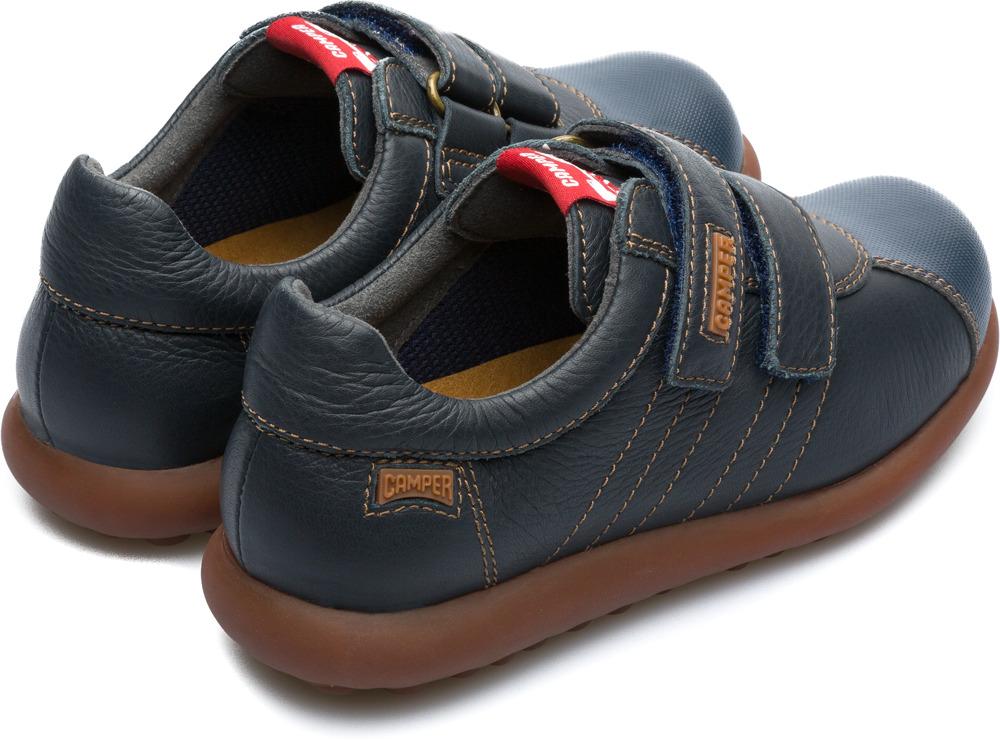 Camper Pelotas Bleu Velcro Enfant 80353-041