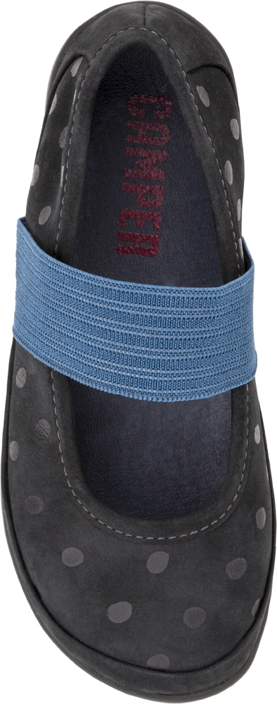 Camper RIGHT Black SMART CASUAL SHOES Kids 80359-011