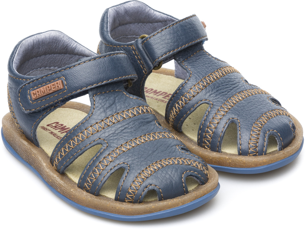 Camper Bicho Blue Sandals Kids 80372-045