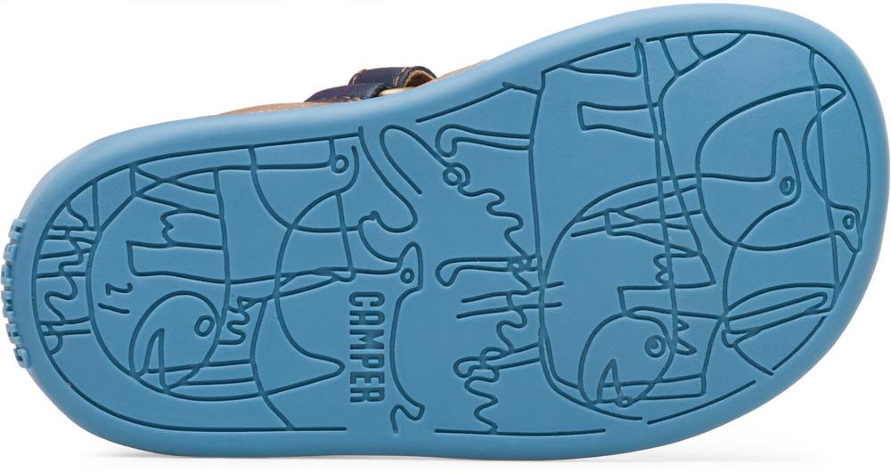 Camper Bicho Bleu Velcro Enfant 80372-046