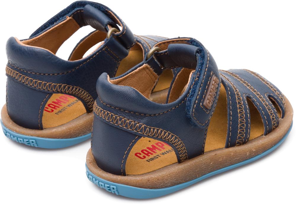 Camper Bicho Blue Velcro Kids 80372-046
