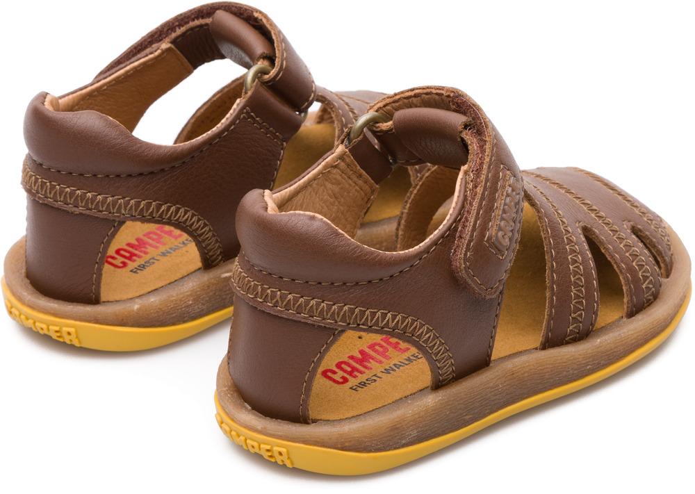 Camper Bicho Brązowy Velcro Dzieci 80372-047