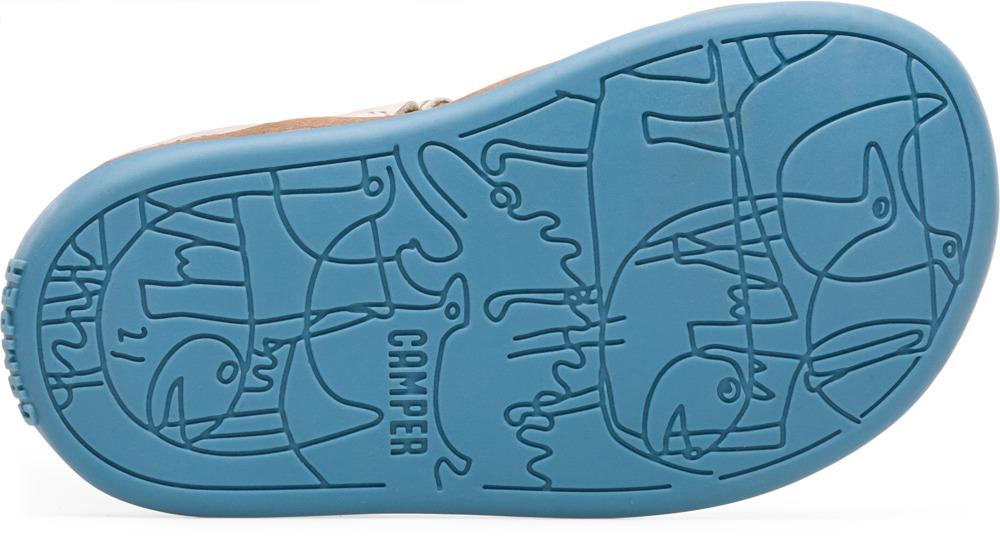 Camper Bicho Beżowy Velcro Dzieci 80372-049