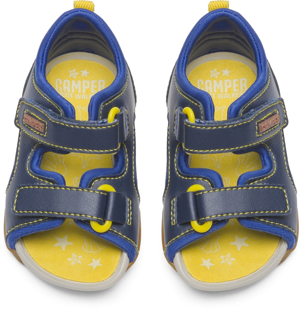 Camper Ous Blue Sandals Kids 80530-030