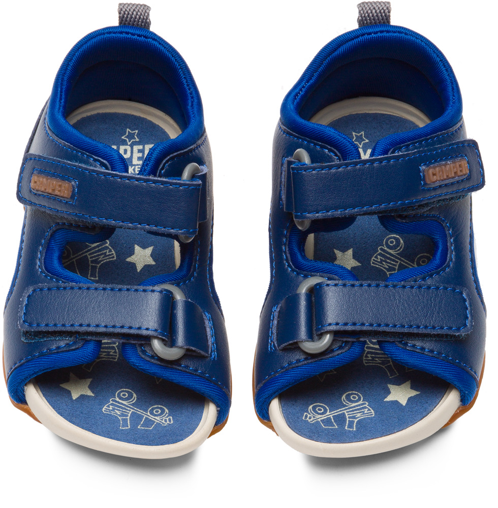 Camper Ous Bleu Non Leather Enfant 80530-033