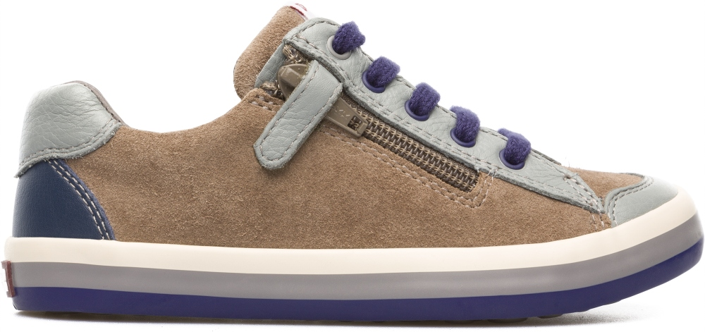 Camper Pursuit Brown Sneakers Kids 80535-026