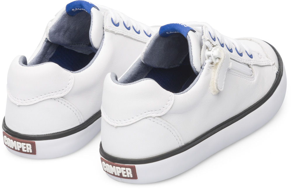 Camper Pursuit White Sneakers Kids 80535-034