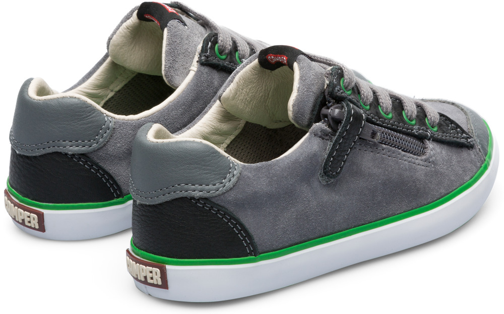 Camper Pursuit Grey Sneakers Kids 80535-035