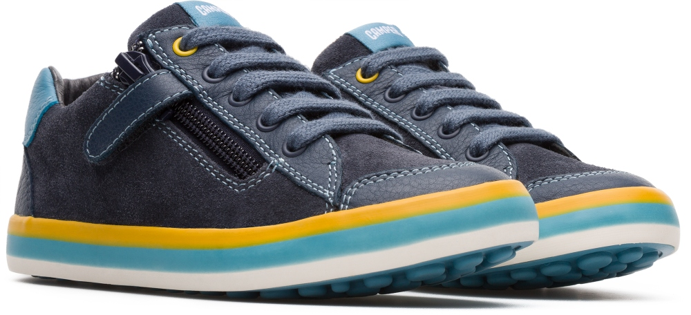 Camper Pursuit Blau Sneaker Kinder 80535-038