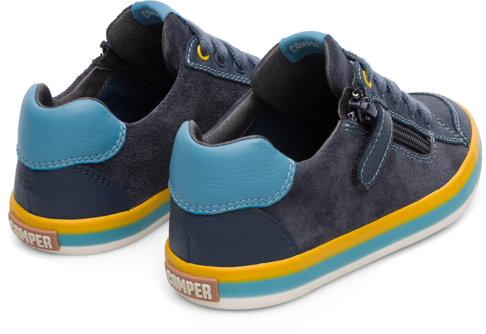Camper Pursuit Bleu Baskets Enfant 80535-038
