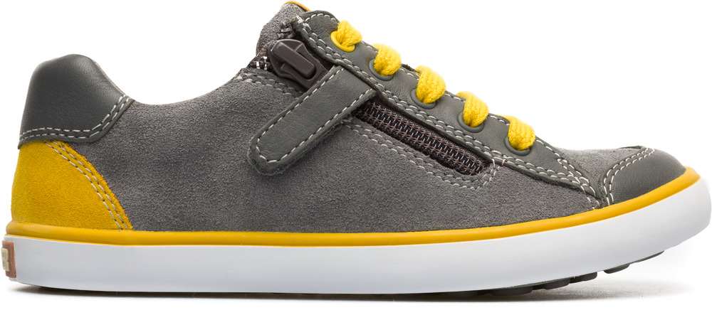 Camper Pursuit Grey Sneakers Kids 80535-039