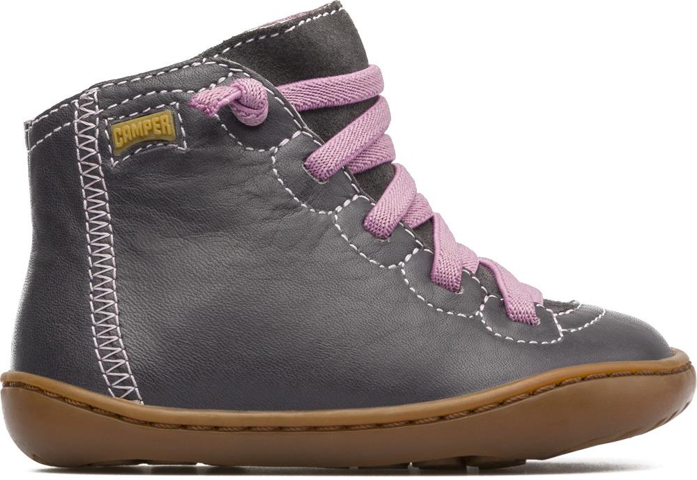 Camper Peu Grey Boots Kids 90179-044