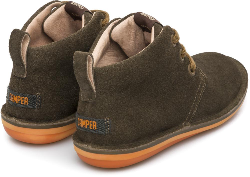 Camper Beetle Green Boots Kids 90203-047