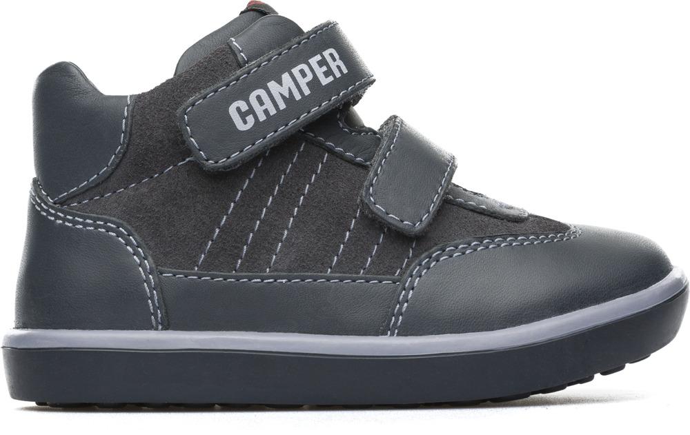 Camper Pursuit Grey Boots Kids 90286-038