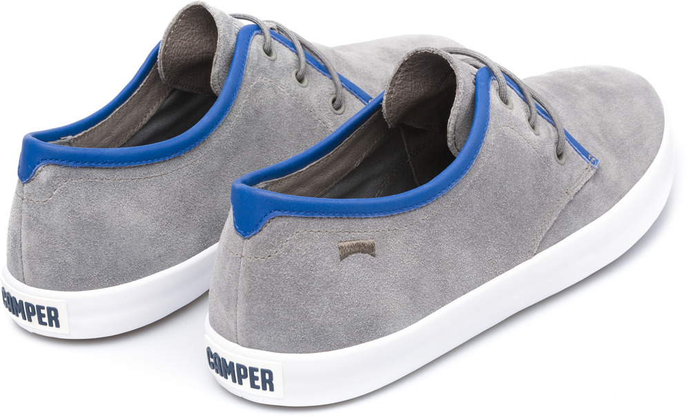 Camper Pursuit Grey Casual Shoes Men K100008-015