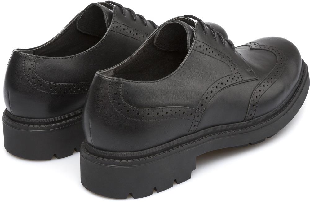 Camper Hardwood Black Formal shoes Men K100013-001