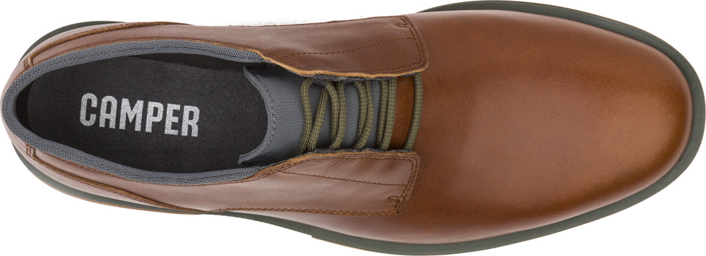 Camper Deia Brown Formal shoes Men K100048-002