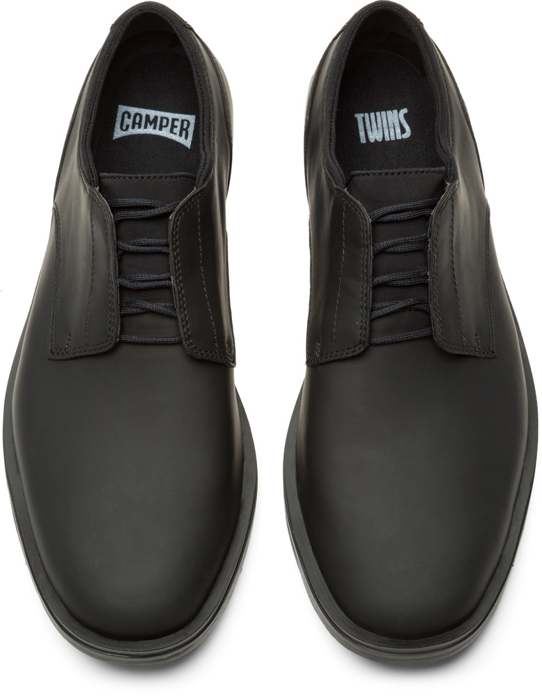 Camper Twins Black Formal Shoes Men K100048-011