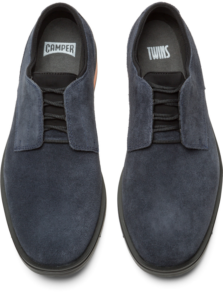 Camper Twins Blue Formal Shoes Men K100048-012