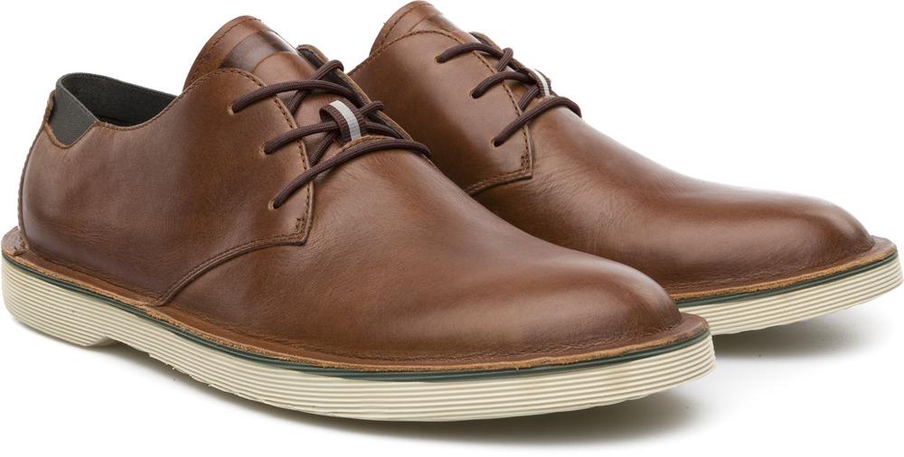 Camper Morrys Brown Formal shoes Men K100057-003