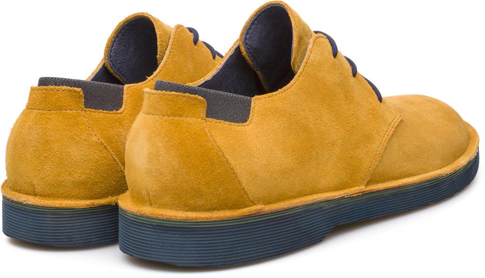 Camper Morrys Yellow Formal shoes Men K100057-005