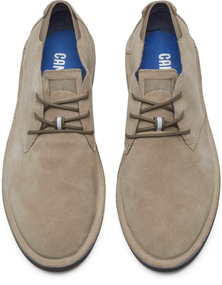 Camper Morrys Beige Formal Shoes Men K100057-016